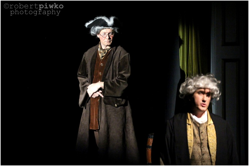 A TALE OF TWO CITIES by Matthew Francis  from the Novel by Charles Dickens  Riverside Players @ Eynsford Village Hall  Directed by Phil Newton  October 2012  picture by robert piwko / www.robertpiwko.com  www.facebook.com/RobertPiwkoPhotography